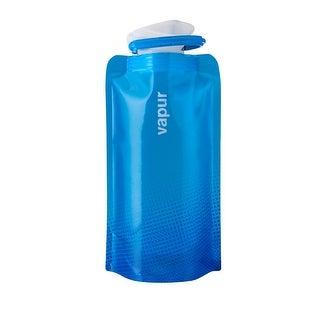 Vapur Shades Wide Mouth Water Bottle, Cyan Blue, 0.5 L