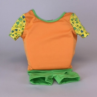 Kids Stuff Body Glove Swim Training Float Orange Suit Small/Medium 20-33 lbs