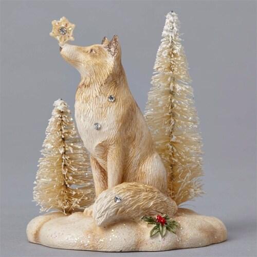 Mini Winter Vignette Fox