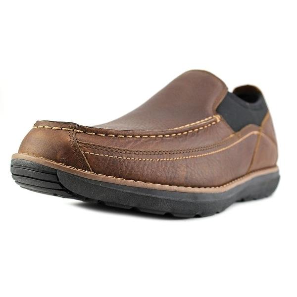 Timberland Barrett Slip On Men Round Toe Leather Brown Loafer