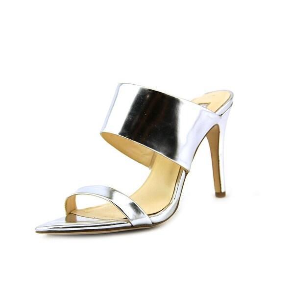 INC International Concepts Rufuss Women Silver Sandals