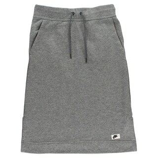 Nike Womens Sportswear Modern Skirt Heather Grey - Heather Grey