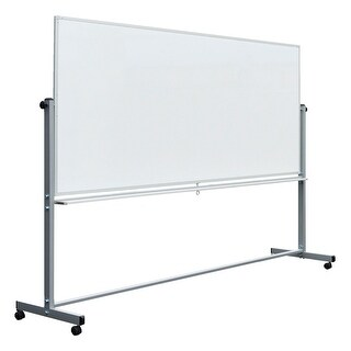 """OF-MB9640WW - Offex 96"""" x 40"""" Double - Sided Reversible Magnetic Whiteboard - White"""
