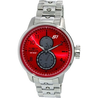 Invicta Men's S1 Rally Silver Stainless-Steel Quartz Diving Watch