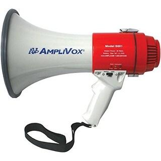 """AmpliVox APVS601RR S601R - Mity-Meg 15-Watt Rechargeable Megaphone"""