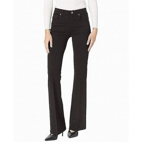 Juicy Couture Womens Pants Black Size 4 Flare Leg High Rise Stretch