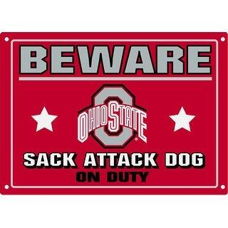 Collegiate Ohio State Pet Sign