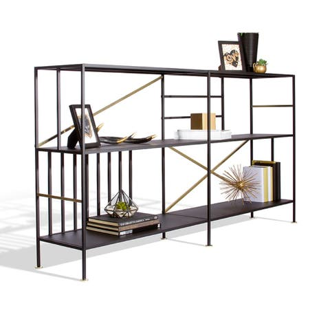 Sauder Boutique Collection New Prairie Horizontal Bookcase