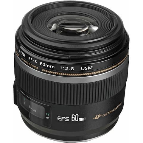 Canon EF-S 60mm f/2.8 Macro USM Lens (International Model)