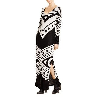 Free People Womens Sweaterdress Knit Side Slits