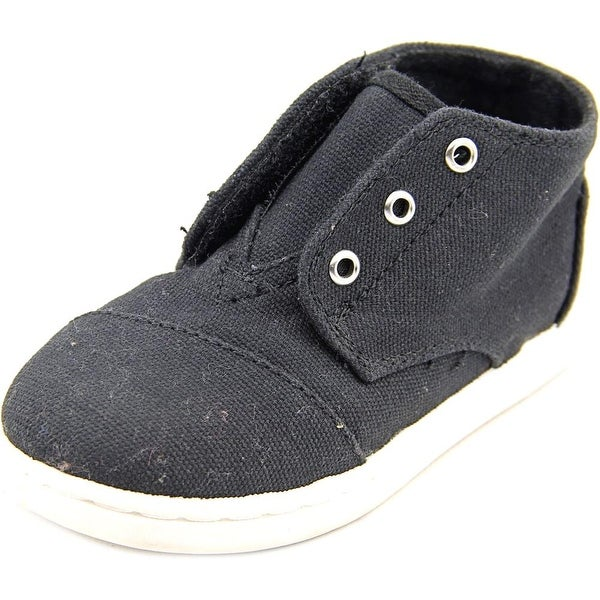 Toms Paseo Mid Round Toe Canvas Sneakers
