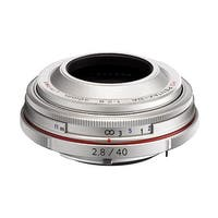Pentax K-Mount HD DA 40mm f/2.8 40-40mm Fixed Lens for Pentax KAF Cameras (Limited Silver) - Silver