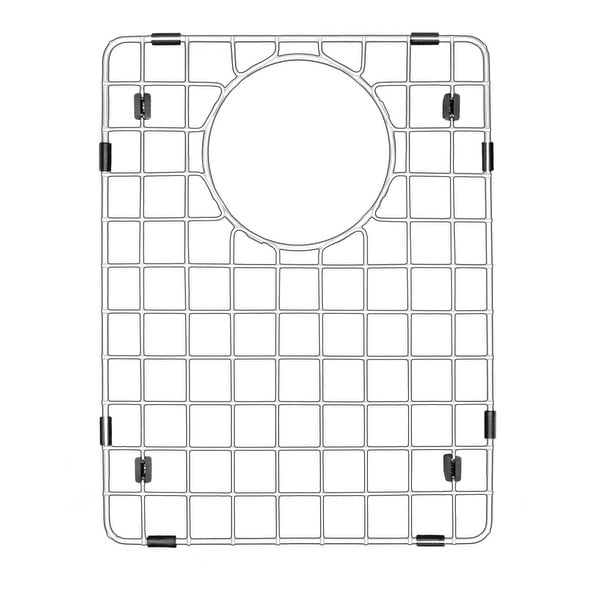 "Karran Stainless Steel Bottom Grid fits QT-610 and QU-610 - 10-1/4"" x 13-1/4"""