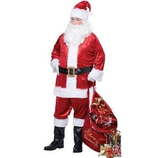 California Costumes Classic Santa Suit Plus Size Costume - Red - plus (48-58)
