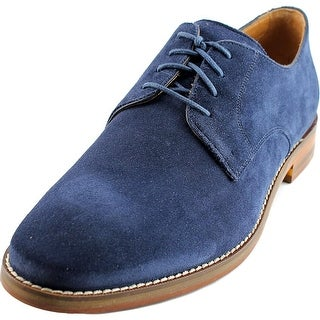 Cole Haan Cambridge Plain Men Round Toe Suede Blue Oxford