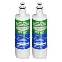Replacement Water Filter For LG LFXS29766S Refrigerator Water Filter by Aqua Fresh (2 Pack)