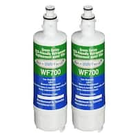 Replacement Water Filter for LG LT700P / ADQ36006101 Refrigerator Water Filter by Aqua Fresh (2-Pack)