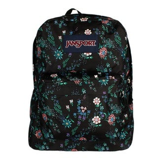 JanSport T501 SuperBreak Authentic School Backpack - OS (77B - Enchanted Garden)