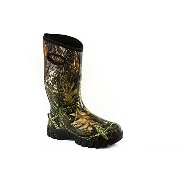 Perfect Storm Mens Thunder Camo Waterproof Boot, Camo, 8