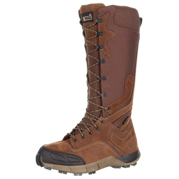 Rocky Outdoor Boot Mens Broadhead Waterproof Trail Snake Brown