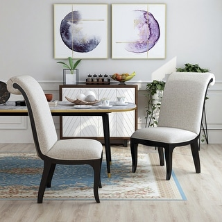 Link to Copper Grove Espresso Dining Chairs (Set of 2) Similar Items in Dining Room & Bar Furniture