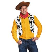 Woody Costume Kit Adult Costume Deluxe Exclusive - Brown
