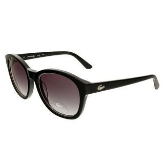 Lacoste L713S 001 Black Round Sunglasses - 51-19-135