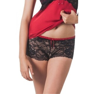 Skarlett Blue NEW Black Women's Size Small S Sleep Shorts Lace Sleepwear