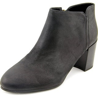 Franco Sarto Narcissa Round Toe Leather Ankle Boot