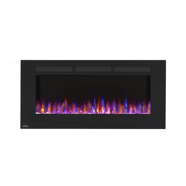Shop Napoleon Nefl32fh 32 W Wall Mount Electric Fireplace With 120v