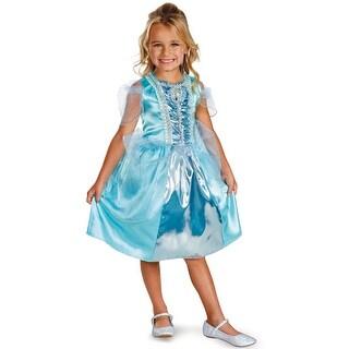 Disguise Disney Princess Cinderella Sparkle Classic Child Costume - Blue