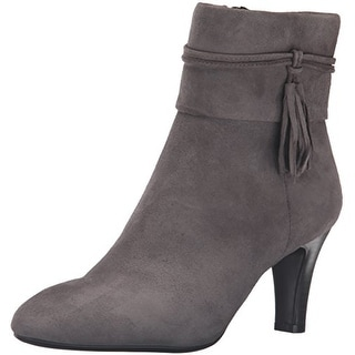 Bandolino Womens Willaria Leather Closed Toe Ankle Fashion Boots Fashion Boots