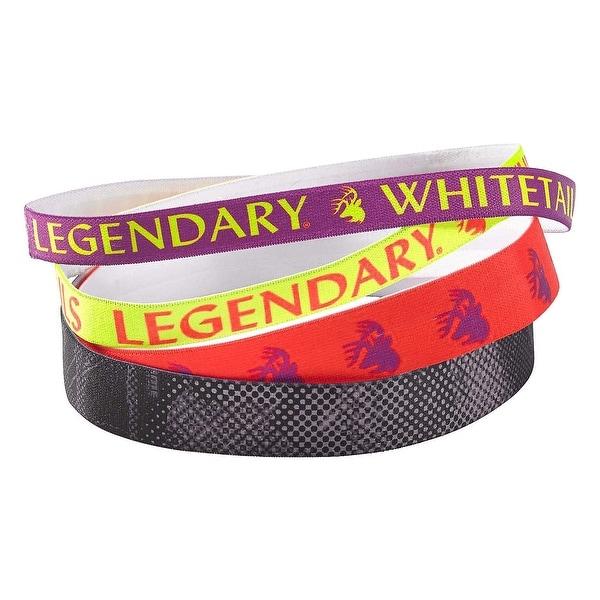Legendary Whitetails Performance Legendary Headbands 4-Pack - Multi - One size