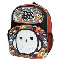 "Harry Potter Pride 3D Hedwig Chibi Characters 16"" Large Backpack School Bag - One Size Fits Most"