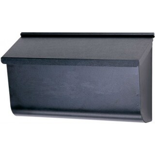 Gibraltar L4010WB0 Woodland Wall Mount Mailbox, Extra Large, Black