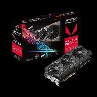Asus - Rog-Strix-Rxvega64-O8g-Ga - Asus Rog Strix Rx Vega64