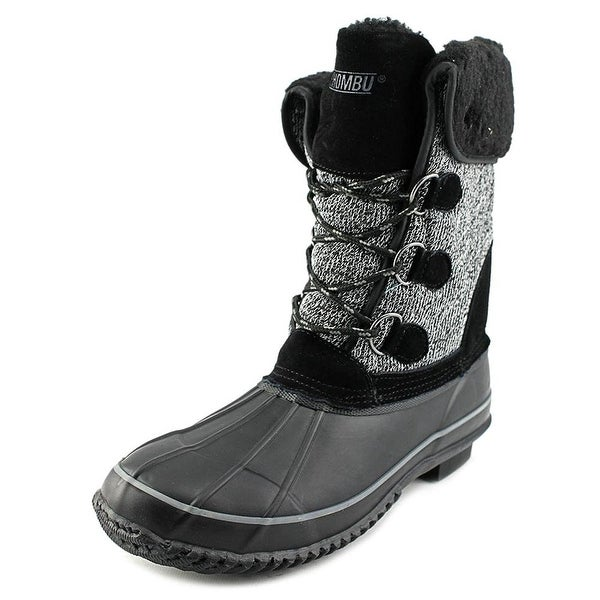 Khombu Womens MAYANA Cap Toe Mid-Calf Cold Weather Boots