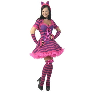 Plus Size Sexy Wonderland Cat Costume (Option: 3x)