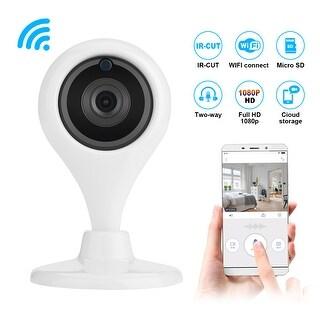 AGPtek Wireless WiFi IP CCTV Camera Indoor Security Pan Tilt Night Vision Cam HD 360 Rotate