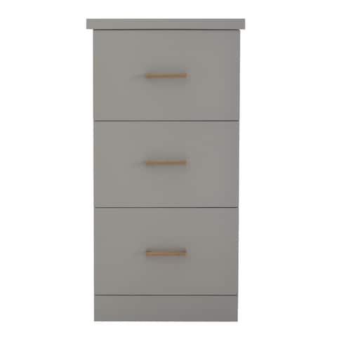 Oslo 3 Drawer File Cabinet