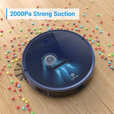 Lefant Wi-Fi Connected Robot Vacuum Cleaner ,Quiet Self-Charging