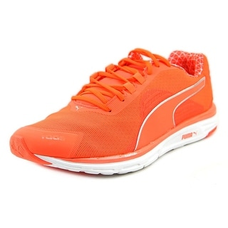 Puma Faas 500 V4 Pwr Warm Round Toe Synthetic Running Shoe