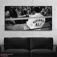 IKONICK Muhammad Ali - Press Canvas Art