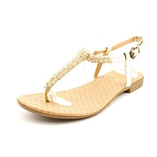 Report Cari Women Open Toe Synthetic Thong Sandal