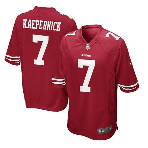 2885c843 Nike San Francisco 49ers Colin Kaepernick 7 Youth Game Jersey Size: Youth  Large (14/16)