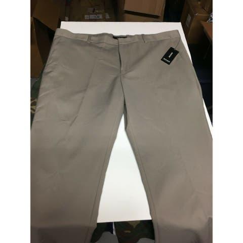 ALFANI Mens Beige Stretch Stretch Pants 34W/ 32L - 34W/ 32L