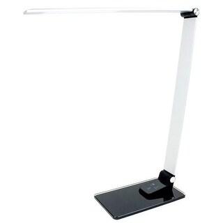 "Newhouse Lighting NHSX-BK Adjustable Desk Lamp, 16"", Gray"