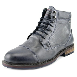 Pikolinos Cacers Men  Round Toe Leather Blue Ankle Boot