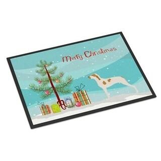 Carolines Treasures BB8434JMAT Ariege Pointer Christmas Indoor or Outdoor Mat 24 x 36 in.