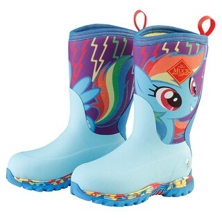 Muck Boots Rainbow Dash Youths Rugged II Hasbro Extreme Winter Boots - Size 13